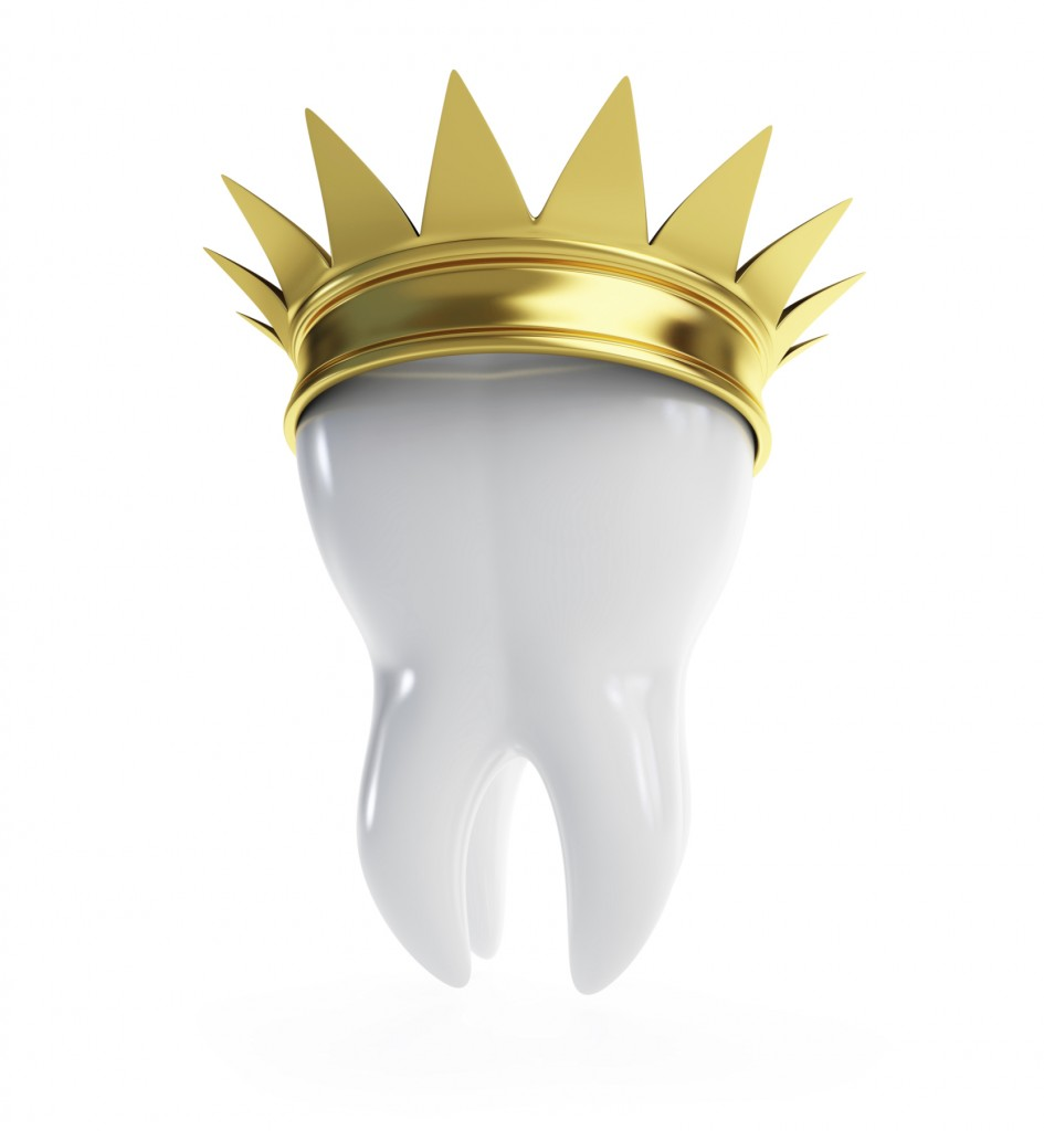 how to make a dental crown